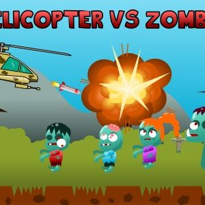 Helicopters vs Zombies